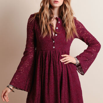 Night Dust Lace Dress By Somedays Lovin