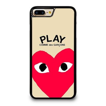 PLAY COMME DES GARCONS iPhone 4/4S 5/5S/SE 5C 6/6S 7 8 Plus X Case