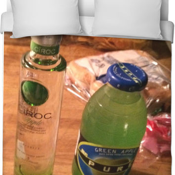 Apple Ciroc And Green Apple Bed Sheets!!