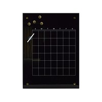 Glass Magnetic This Month Dry Erase Board
