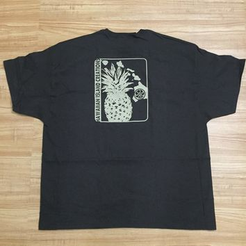 "HIC ""Pineapple"" Mens Brown T-Shirt"