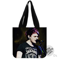 Michael Clifford 5 SOS New Hot, handmade bag, canvas bag, tote bag