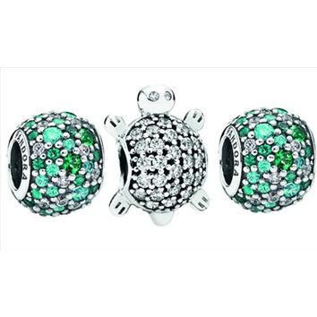 Authentic Pandora Jewelry - Sea Turtle Charm Set