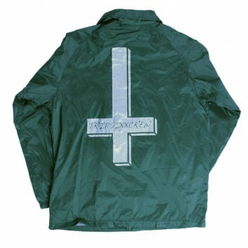 CROSS COACH JACKET GREEN – Odd Future