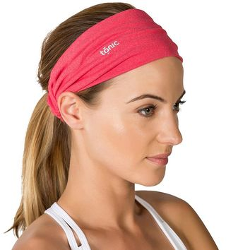 Tonic Wide Scrunch Yoga Headband