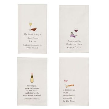 Wine Lovers Dish Towels