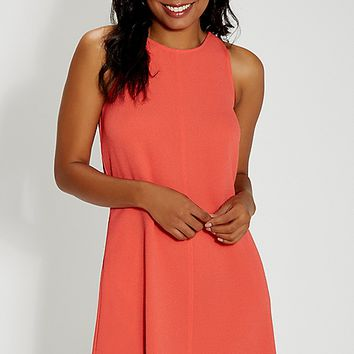textured shift dress with pockets | maurices