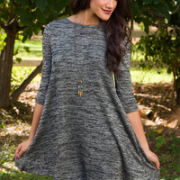 Merilee Swing Dress - Gray