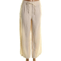 Style & Co. Womens Linen Relaxed Casual Pants