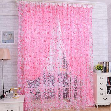 Pink Window Curtain for home