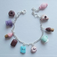 Books and Sweets bracelet