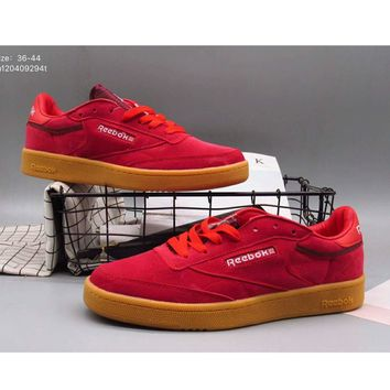 Reebok men and women wild fashion shoes tide shoes F-A36H-MY Red