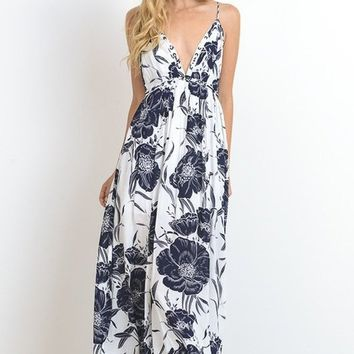 Emmy Bohemian Tropics Floral Maxi Dress FINAL SALE!