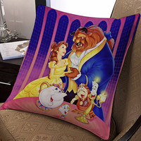 "Walt Disney Posters Beauty and the Beast pillow ---- pillow one and two side by  ""galaxyplatinum"","