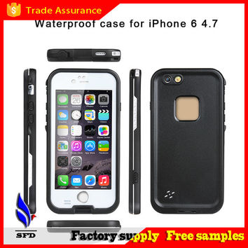 Redpepper shockproof Dustproof Waterproof case swimming surfing case cover for iphone 6 6 plus 5 5s 4 4s with retail box