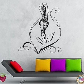 Wall Stickers Vinyl Decal Naked Hot Sexy Beautiful Girl Teen Woman Unique Gift (z1933)