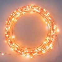 The Original Starry String Lights™ by Brightech - Warm White Color LED's on a Flexible Copper Wire - 20ft LED String Light with 120 Individually Mounted LED's. Set the Mood You Want Anywhere! - Perfect For Creating Instant Appeal in Any Setting - Parties,