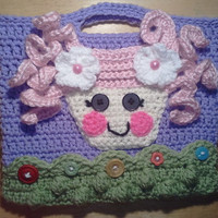 Lalaloopsy Doll  inspired children's purse