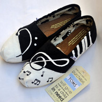 Custom Handpainted Music TOMS