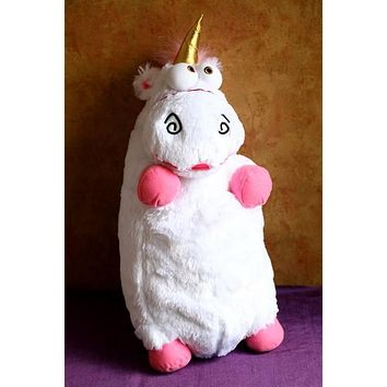 Supernova Sale Big Size 60CM Despicable ME 2 Unicorn Very Big Movie Toy 24InchStuffed & Plush Animals stuffed animals & plush