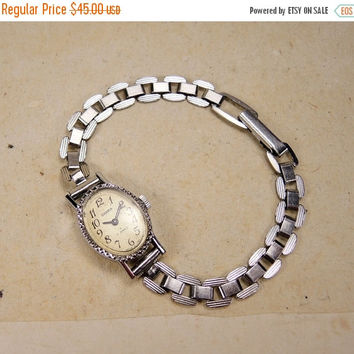 Very Small Watch - Women's Wrist Watch -  Silver Small Women's Wrist Watch - Watch Chaika