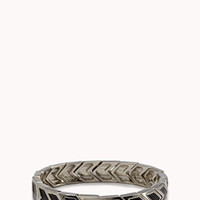 FOREVER 21 Stretchy Chevron Bangle
