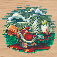 """""""Life Will Find A Way"""" Art Print by Tim Shumate"""