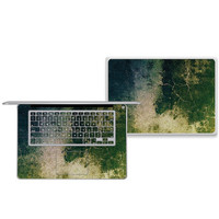 Topographic Grunge MacBook Cover Skin & Combination Sets