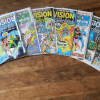 Vision and The Scarlet Witch, V2, 1 through 12, Full limited series run. 1985 - 1986  NM. Marvel Comics