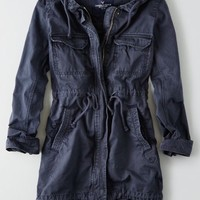 AEO Women's Long Parka (Lead)