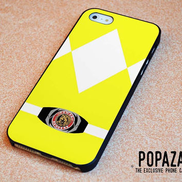 Yellow power Ranger iPhone 5 | 5S Case Cover