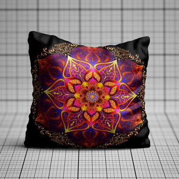 Mandala Spiritual Cushion Cover