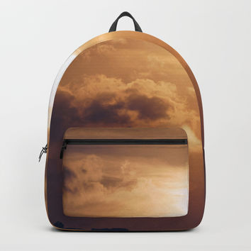 Austin Sunset Backpack by audrey_ross