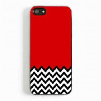 Welcome to twin peaks chevron for iphone 5 and 5c case