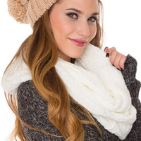 Clea Beanie - Taupe - One Size / Taupe
