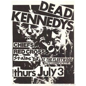 Dead Kennedys Poster 24x36