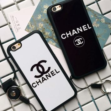CHANEL phone case shell  for iphone 6/6s,iphone 6p/6splus,iphone 7/8,iphone 7p/8plus, iphonex For Black Friday