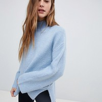 New Look Wide Sleeve Sweater at asos.com