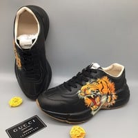 "Gucci ""Tiger"" Men Women Fashion Casual Sports Shoes"
