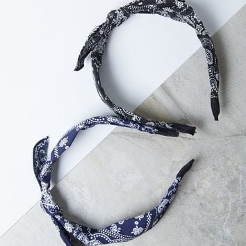 Tied Bandana Headband