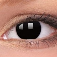 Black Out Contact Lenses, Black Out Contacts | EyesBright.com