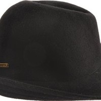 Kangol Women's Wool Lola,Black,Medium