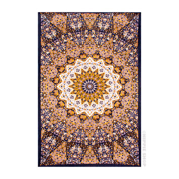 India Star Dark - 3D Tapesty on Sale for $23.95 at HippieShop.com