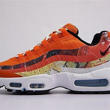Dave White X Size? X Nike Air Max 95 Cayenne / Maroon 872640 600 | Best Deal Online