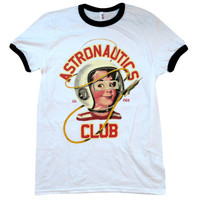 Astronautics Club Ringer Shirt