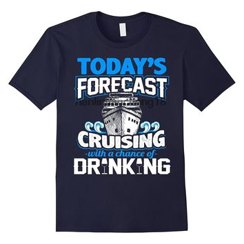 Cruising With A Chance Of Drinking - Men's T-Shirt - Sailing Tee