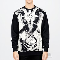 Black Scale Le Satan Fleece | Caliroots - The Californian Twist of Lifestyle and Culture