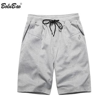 Summer Men Jogger Shorts Elasticated Waist Trousers Pockets Cross string High Street Military Shorts Male