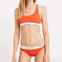 Calvin Klein Briefs in Orange - Urban Outfitters