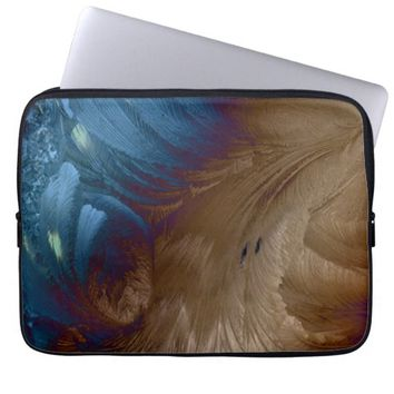 Golden Feathers Laptop Computer Sleeve